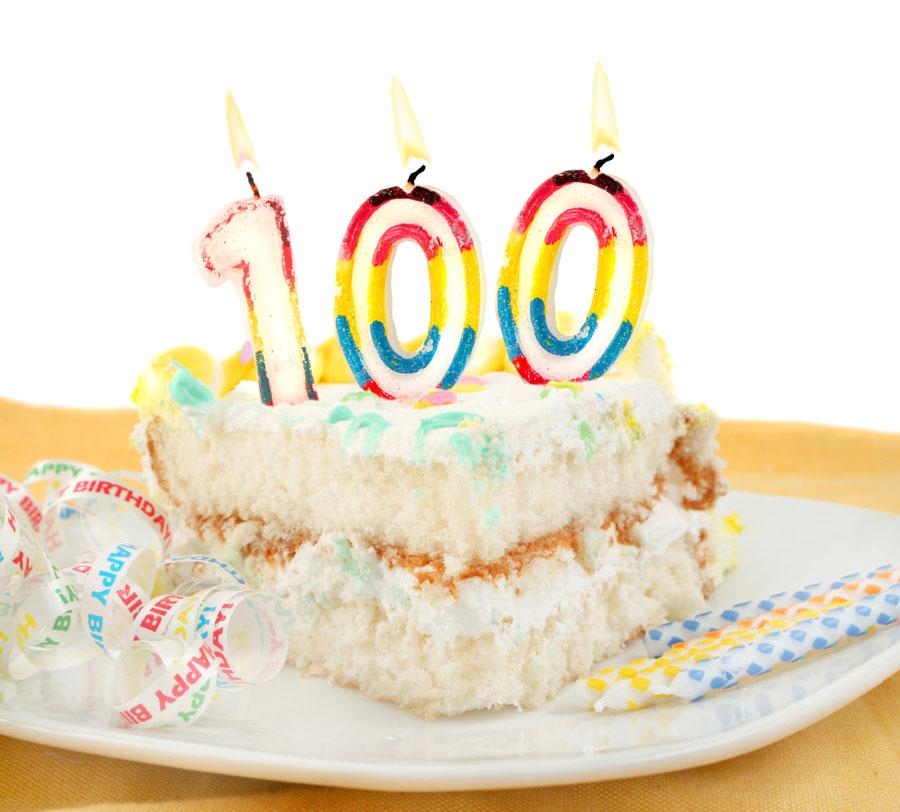 George Houck's 100th birthday