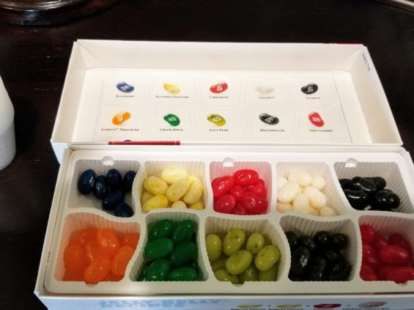 box of assorted jelly beans