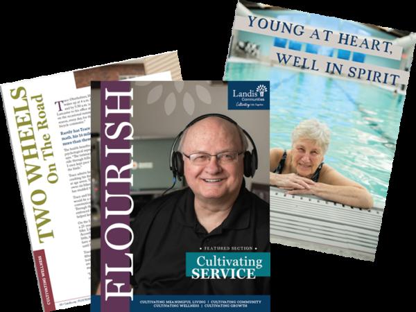 Three Flourish magazine pieces