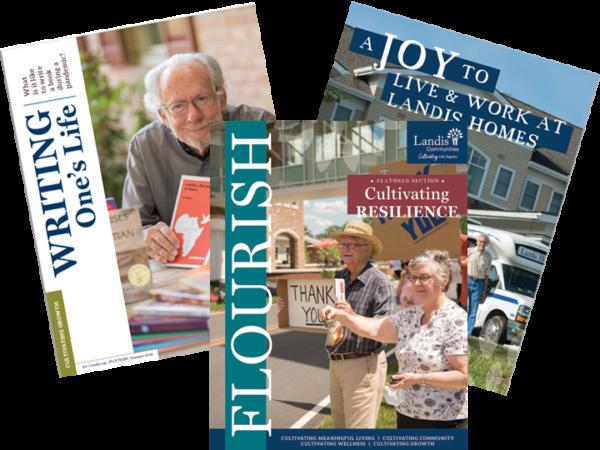 Three Flourish magazine Covers